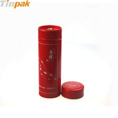 This airtight metal cylinder container with double lids has a metal inner lid to prevent air leak and will keep your loose tea, coffee, spices fresh.http://www.tinpak.us/Products/WholesaleMetalCylinderContainer.html