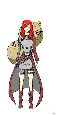 Gaara (gender bent)<<< Not sure if i like this version or not... good artwork, though