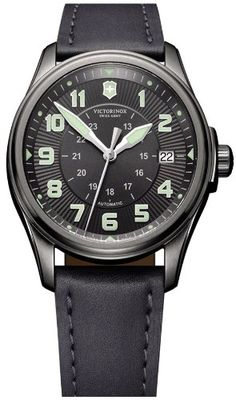 Victorinox Swiss Army Men's 241518 Infantry Vintage Black Dial Watch $553.10