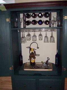 Repurposed TV Armoire | Repurpose Old TV Armoire