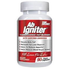 Top Secret Nutrition Ab Igniter Thermogenic Fat Burner 90 Veg Capsules