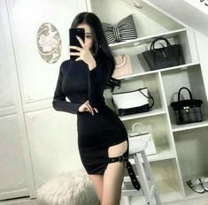 Pin by Dzichan ♡ on . in 2019 Kpop Outfits, Korean Outfits, Girl Outfits, Cute Outfits, Fashion Wear, Girl Fashion, Fashion Outfits, Ulzzang Fashion, Ulzzang Girl