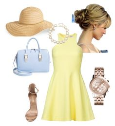 Summer Soirée by becca-hicks-barnes on Polyvore featuring polyvore, fashion, style, Elizabeth and James, Michael Kors, Opening Ceremony, Kendra Scott and David & Young