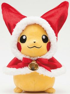 Christmas Pikachu #pokemon