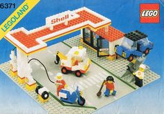 6371-1: Shell Service Station | Brickset: LEGO set guide and database