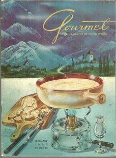 Gourmet Magazine February 1955