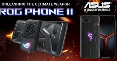 ASUS ROG PHONE II Gaming Phone. Summer🏖️ Sale is on. Order now 🛒 #AsusRogPhone2 #GamingPhone Android Theme, Latest Smartphones, Asus Rog, Stereo Speakers, Operating System, Dual Sim, Low Lights, Gaming, Game