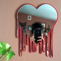 in living room ideas entryway Heart Art Bleeding Heart Wall Art Heart Wall Mirror Decorative Heart Art Xmas Gift Christmas Gift Valentines Day Gift Heart Wall Decor, Heart Wall Art, Wall Art Decor, Heart Mirror, Mirror Wall Art, Cool Mirrors, Unique Mirrors, Mirror Bedroom, Vintage Mirrors
