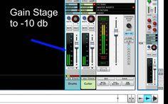 Gain Staging - Gain Structure - Balance Tracks - SSL Mixer Series - Reason - LearnReason
