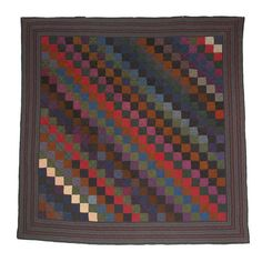 Amische Quilts, Wool Quilts, Sampler Quilts, Patchwork Quilting, Hexagon Quilt, Square Quilt, Hexagons, Amish Quilt Patterns, Vintage Quilts Patterns