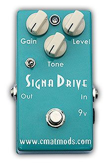 Cmat Mods- Signa Drive. Clear and beautiful overdrive at a good price
