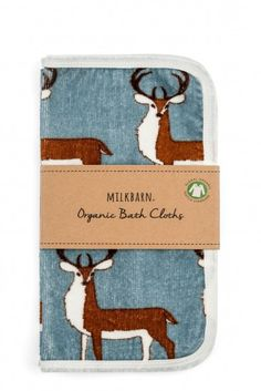 4127cdfcbf3 Milk Barn Bath Cloth Set - Buck at Black Wagon Organic Baby