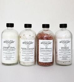 Natural Mineral Bath Salts by Little Barn Apothecary on Scoutmob Shoppe