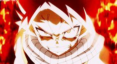"""Natsu's fury by ~kanamelover101 on deviantART Gif -- """"Now I'm fired up!!!"""""""