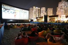 outdoor cinema dubai - Google Search