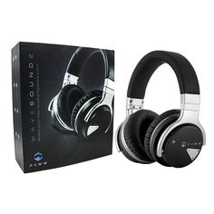 Paww Over Ear Headphones Paww WaveSound 2 Active Noise Cancelling Bluetooth Headphones with Custom Carry Case Black *** For more information, visit image link. (This is an affiliate link) Good Quality Headphones, Best Headphones, Bluetooth Headphones, Over Ear Headphones, Running Headphones, Headphone With Mic, Noise Cancelling Headphones, Iphone Accessories, Technology Gadgets