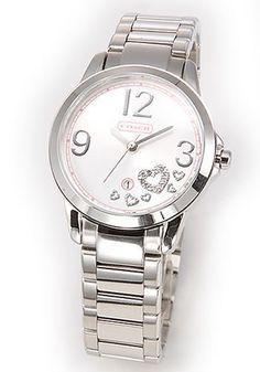 Coach women's signature date watch 14501222 -