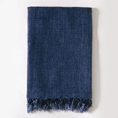 """100% Textured Linen Throw 50 x 60"""" Available in Natural, Rose, Pure White, Grey Stone, Cream and Indigo"""