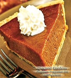 BULK Fragrance Oil - PUMPKIN PIE PARADISE BLEND BBW TYPE Fragrance Oil - Blend of spicy cinnamon, rich, creamy vanilla icing and mouth watering brown sugar - By Oakland Gardens (030 mL - 1.0 fl oz Bottle) *** Learn more by visiting the image link.