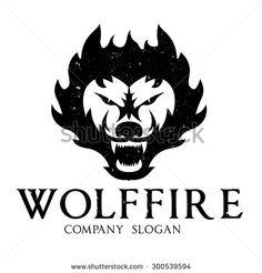 stock-vector-wolf-fire-wolf-logo-fox-logo-fox-vector-logo-template-300539594.jpg (450×470)