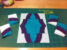 SCHNIG SCHNAG - Quilts and more: Medaillon Quilt