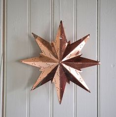 Copper snowflake