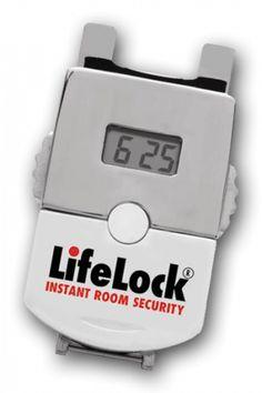 Lifelock - The Pocket-Sized Portable Door Lock!