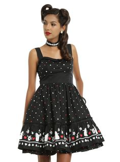 Disney Alice In Wonderland Red Queen Retro Dress | Hot Topic
