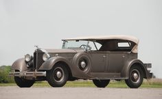 1934 Packard Eight Phaeton   Vintage Motor Cars of Meadow Brook 2010   RM AUCTIONS