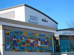 Waterloo Memorial Recreation Complex - Waterloo, Ontario, Canada #WaterlooRegion
