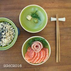 il giardino dei ciliegi: Cucina giapponese: Chirashi a modo mio e il vero w...