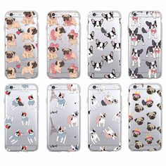 4e8b766d9b2 Cheap phone cases, Buy Quality french bulldog directly from China fundas 6  Suppliers: Cute Puppy Pug Bunny Cat Princess Meow French Bulldog Soft Phone  Case ...