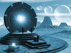 Stargate Gateway... what a totally cool way to get around the universe!  Complications notwithstanding.