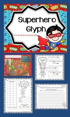 "$ This engaging glyph will be a great addition to your ""All About Me"" theme at the beginning of the year or a compliment for ""Zero the Hero"" activities and ""100th Day"" theme."