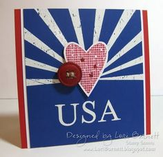 love the design - will probably put on a wooden block, seal with texture paint then add heart and button.  Cute.