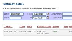 """I'm getting paid daily at ACX and here is proof of my latest withdrawal. This is not a scam and I love making money online with Ad Click Xpress.  Join for FREE and get 20$ + 10$ + 5$ Monsoon, Ad and Media value packs from ACX.  MAKING HISTORY - ACX Search """"Users"""" Paid! My #254 Withdrawal Proof of online income from AdClickXpress."""