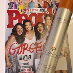 "ColorProof's AllAround Flexible Hold Hairspray was featured in People's Magazine's ""Beauty & Style Extra"" subscriber issue for Hair Care for Every Decade."