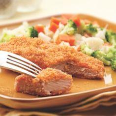 Golden Baked Pork Cutlets - EatingWell.com