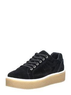 PS Poelman stoere dames creepers sneakers - zwart
