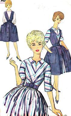 1960s Dress Pattern Simplicity 4092 Full Skirt by paneenjerez, $10.00