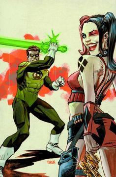 Des variant covers aux couleurs de Green Lantern pour le mois de septembre
