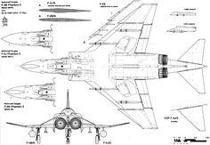 F-4 Phantom II blueprint