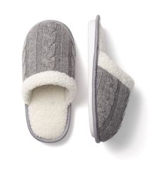 i love fuzzy warm slippers in the winter