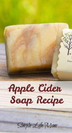 Apple Cider Soap Recipe for Fall Plus a GIVEAWAY had a number of people ask how to add apple cider to soap, so put together a tutorial for this pretty apple cider soap recipe. Apple Cider Soap makes a great Fall decoration AND a great gift! Handmade Soap Recipes, Soap Making Recipes, Handmade Soaps, Diy Soaps, Handmade Pottery, Diy Savon, Goat Milk Soap, Ginger Ale, Homemade Beauty Products