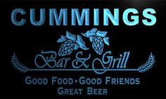 Image result for cummings bar sign