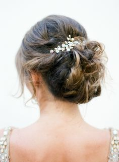 Messy-chic updo: http://www.stylemepretty.com/little-black-book-blog/2016/06/28/buenos-aires-bridal-from-sophie-epton-photography/ | Photography: Sophie Epton Photography - http://www.sophieepton.com/