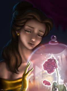 They have total not been very observant about Belle she is a happy person