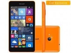 """Smartphone Microsoft Lumia 535 Dual Chip 3G - Windows Phone 8.1 Câm. 5MP Tela 5"""" Proc. Quad Core  Por R$ 509,00  em até 10x de R$ 50,90 sem juros no cartão de crédito  ou R$ 442,83 à vista"""