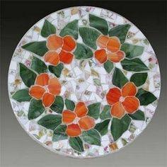 Items similar to Fairy Garden Rainbow Stepping Stones Terrarium Potted Plant on Etsy Mosaic Tray, Mosaic Tile Art, Mosaic Pots, Mosaic Artwork, Mosaic Garden, Mosaic Crafts, Mosaic Projects, Mosaic Glass, Mosaics