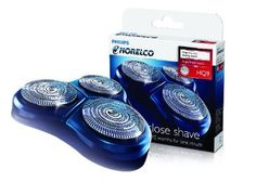 Philips Norelco Hq9 Speedxl Replacement Heads Philips Norelco HQ9 Replacement Heads provide a comfortable electric shave. These replacement heads offer three shaving tracks with a large surface area for a fast, close shave. The flexing heads keep the shaving surface in close contact with your skin